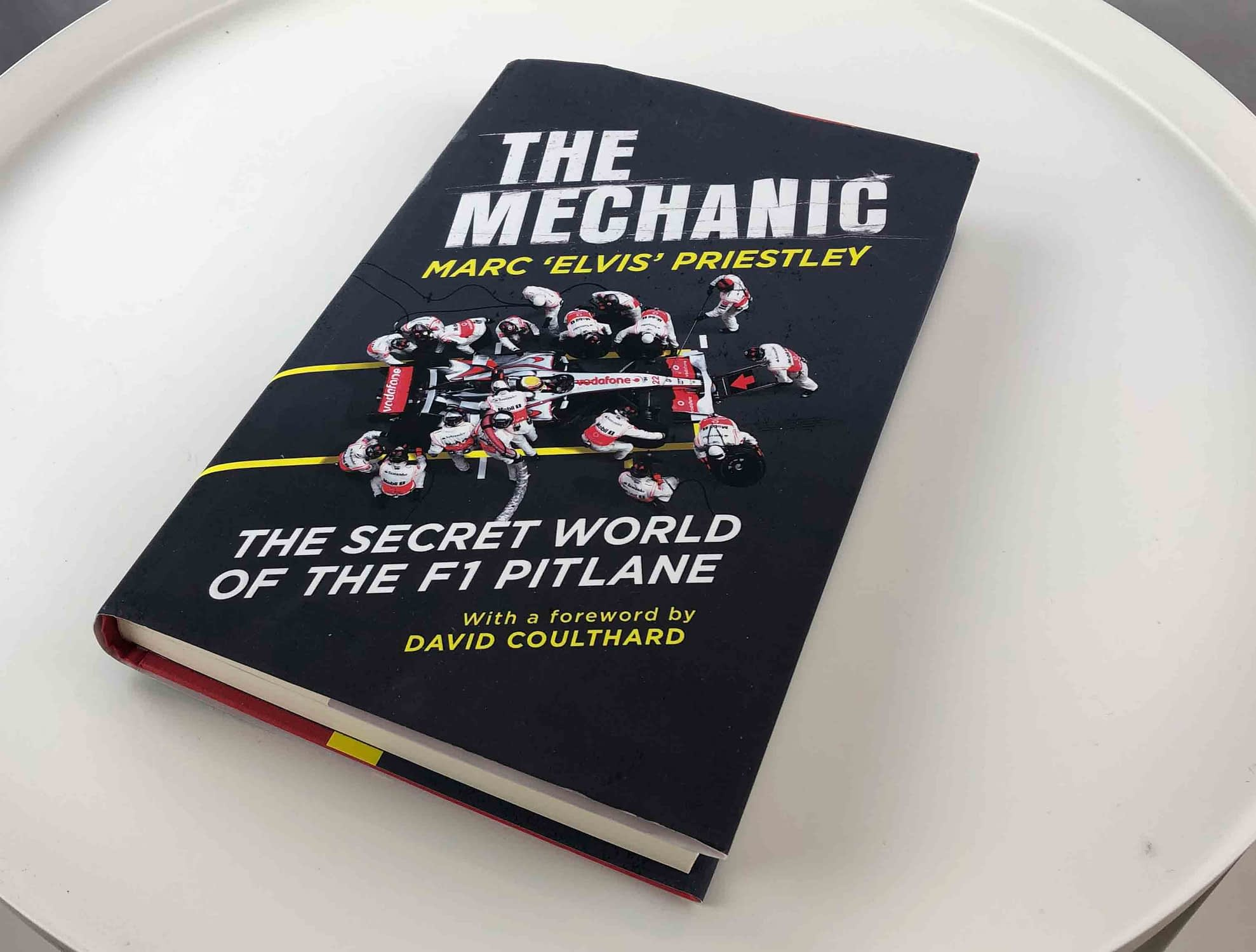 The mechanic book cover